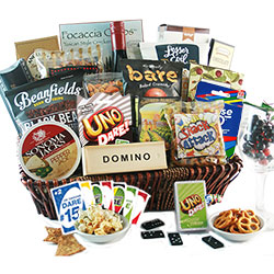 Quarantine Madness Wine & Snacks Basket