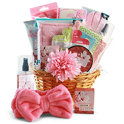 Sweetest day gift baskets sweetest day gifts for him her diygb r r spa gift basket negle Image collections
