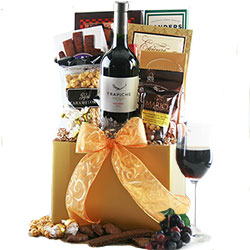 Red Wine Classic Wine Baskets