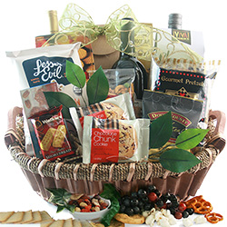 Red Wine Splendor - Wine Gift Basket