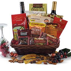 Red Wine Splendor - Wine Gift Basket