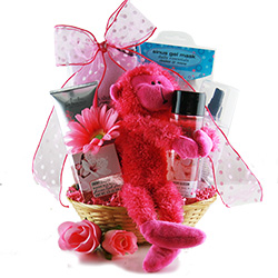 Relaxing Cherry Blossom Spa Gift Basket