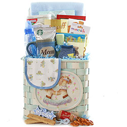 Rockin New Baby - Baby Gift Basket