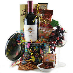 Round of Applause Wine Gift Baskets