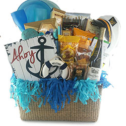 Sail Away Gift Basket