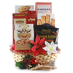 Seasons Greetings Holiday Gift Baskets