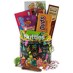 Sensational Sweets - Candy Gift Basket