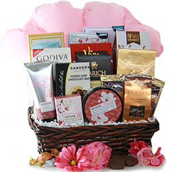 Spa-Licious - Chocolate Spa Gift Basket