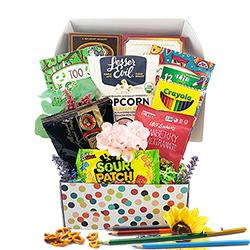 Splash of Color -  Adult Coloring Book Gift Basket