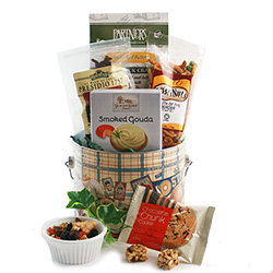 Sports Fanatic Gift Basket