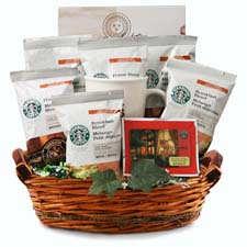 Starbucks Coffee - Starbucks Gift Basket