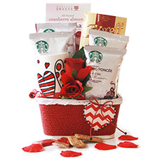 Starbucks Lovin Valentines Day Gift Baskets