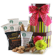 Starbucks for Mom Mothers Day Baskets