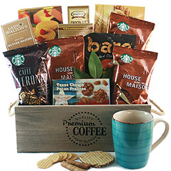 Starbucks Assistants Day Gift Baskets