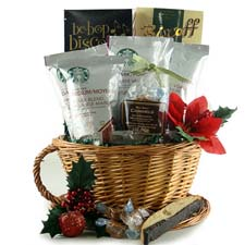 Starbucks Christmas Gift Baskets