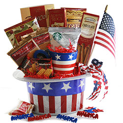 Stars & Stripes - Independence Day Basket