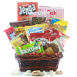 Stay at Home Quarantine Gift Basket
