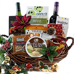 St. Nicks Holiday Assortment - Christmas Gift Basket