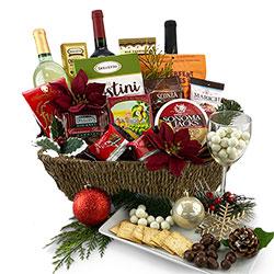 St. Nicks Holiday Assortment - Christmas Gift Basket
