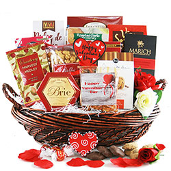 straight from the heart valentine gift basket - Valentines Gift Basket Ideas