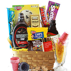 Sundae Night Special - Ice Cream Gift Basket