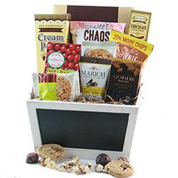 Sweet Chaos Chocolate Gift Basket