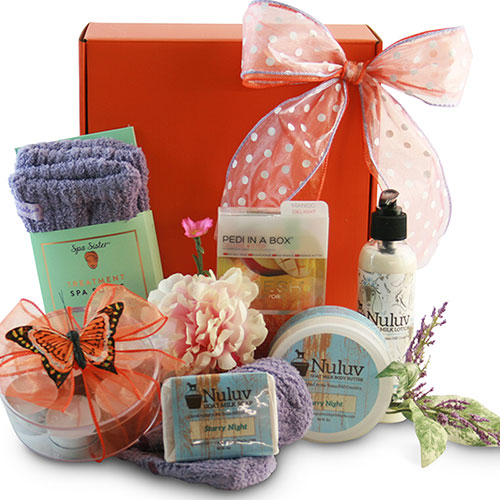 Admininstrative Professional Spa Gift Baskets