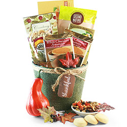Tastes of Fall Gourmet Gift Basket