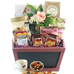 Tea For Two - Tea Basket