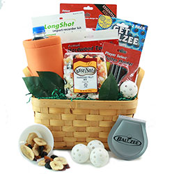 Retirement gift baskets retirement gifts for women men diygb tee time golf gift basket solutioingenieria Gallery