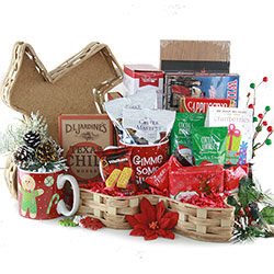 Texas Cheer -  Holiday Basket