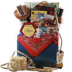 Texas Fathers Day Basket