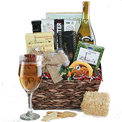 Texas Wine Country - Wine Gift Basket