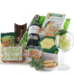 Thanks a Million - Thank You Gift Basket