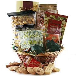 Thank you, Thank you - Thank You Gift Basket