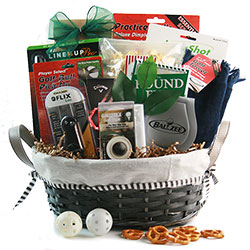 The Pro - Golf  Gift Basket