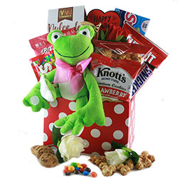 Toadally Yours Valentines Gift Basket