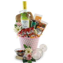 A Toast to Spring Wine Gift Basket