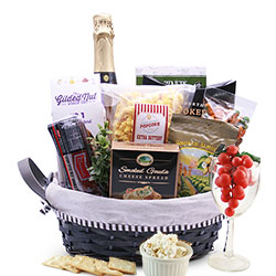 A Toast To You - Wine Gift Basket