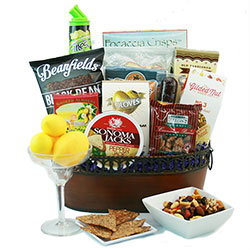 Top Shelf - Margarita Gift Basket