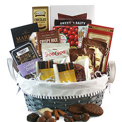 Totally Chocolate - Chocolate Gift Basket