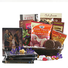 Twilight  Movie Night - Move Gift Basket