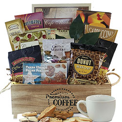 Grandparents day gifts gift baskets for grandparents diygb ultimate coffee gift basket negle Image collections