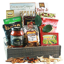Grandparents day gifts gift baskets for grandparents diygb ultimate snacker snack gift basket negle Images