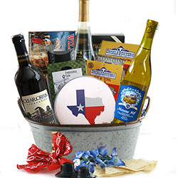 <BR> Wine Gift Basket - Wine Gift Basket