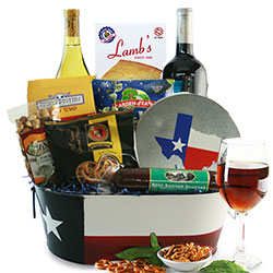 Ultimate Texas Wine <BR> Wine Gift Basket - Wine Gift Basket