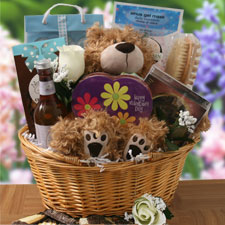 Unbearably Yours Valentines Gift Baskets