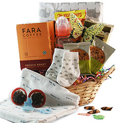 Gift baskets by design it yourself gift baskets up all night baby gift basket solutioingenieria Choice Image