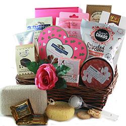 Valentines for Her-  Valentine Gift Basket