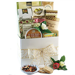 Wedded Bliss Wedding Gift Basket